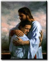 Jesus' hug
