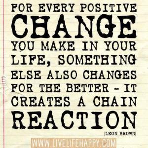 change chain reaction