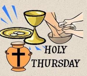 Holy Thursday PICTURES