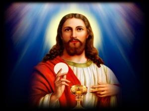jesus at mass