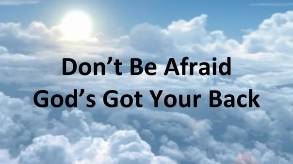 GOD'S GOT YOUR BACK