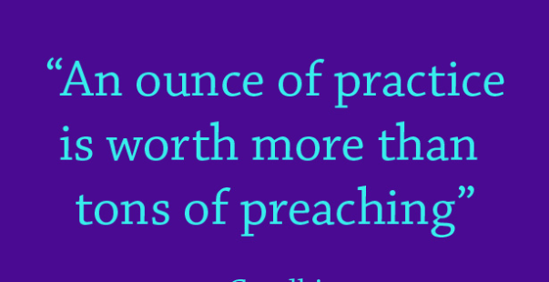 practice preaching