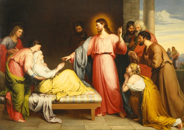 healing of the mother-in-law
