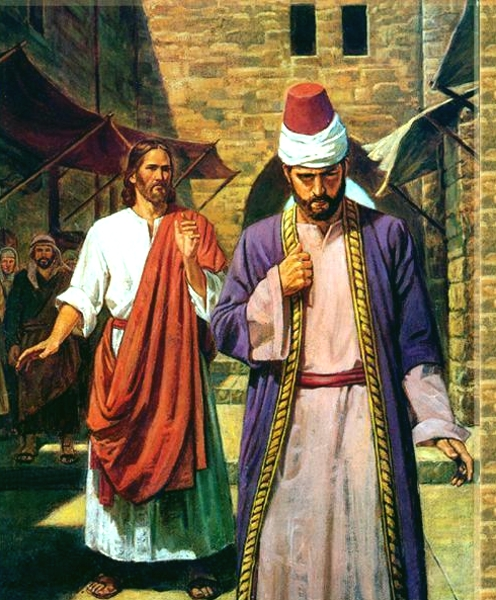 the Rich man and Jesus