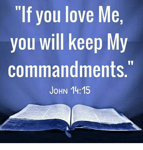 KEEP MY COMMANDMENT